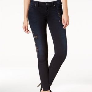 Kut From The Kloth Embroidered Donna Ankle Skinny